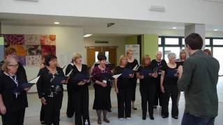 NHS Forth Valley Nurses Choir singing Oh Rowan Tree 30th June 2016