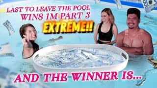 EXTREME Last to Leave The Pool Wins 1M $$ Part 3 (FINALE!)