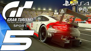 Gran Turismo Sport - Gameplay Walkthrough Part 5 - Mission Stage 6 7-8 Endurance Race (PS4 PRO)