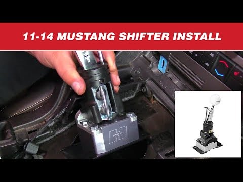 2011-14 Ford Mustangs - Install: Competition/Plus Shifter 3916039