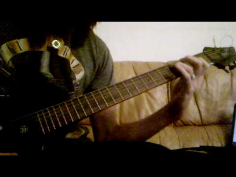 "Bullet For My Valentine ""Road To Nowhere"" Guitar Cover By Me"