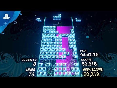 Trailer de lancement de Tetris Effect