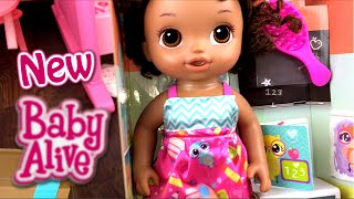 New Baby Alive Ready For School Doll Unboxing And Details