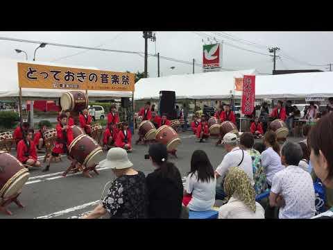 赤井小学校 赤井いぶき太鼓 とっておきの音楽祭