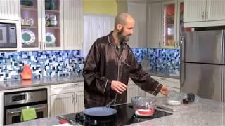 Melt in Your Mouth Gluten-Free Vegan Blueberry Pancake Recipe