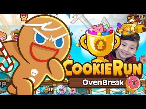 Cookie Run OvenBreak   La Galleta de Gengibre   Juegos Infantiles para niños
