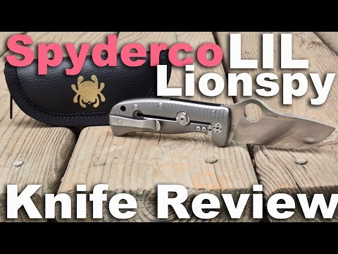 Spyderco Lil Lionspy Pocket Knife Review, Collaboration with Lion Steel (Elmax)