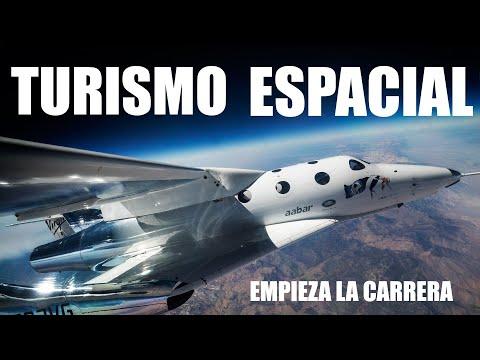 TURISMO ESPACIAL  VIRGIN GALACTIC, SPACEX, BLUE ORIGIN  LA CARRERA POR CONQUISTAR EL ESPACIO