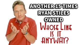 "Another 15 Times Ryan Stiles Owned ""Whose Line Is It, Anyway?"""