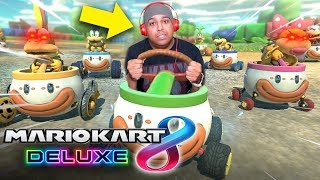 IT'S BEEN A LONG TIME... LET'S TAKE SOME L'S ONLINE.. [MARIO KART 8 DELUXE]