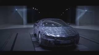 Первое тизер-видео гибридного родстера BMW i8 Roadster