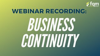How to Write an Effective Business Continuity Plan