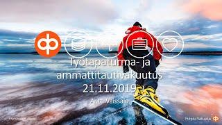 Työtapaturma- ja ammattitautivakuutus & tulorekisteri, Antti Vaissalo, OP-ryhmä