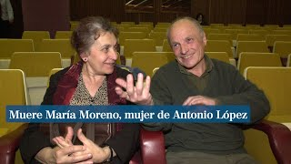 Muere la artista María Moreno, mujer de Antonio López