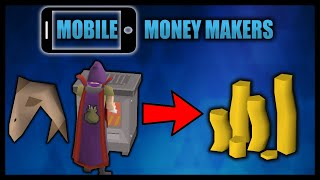 10 hours of cooking sharks - Mobile money makers (OSRS 2021)