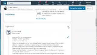 Multiple Positions At Same Employer- LinkedIn Change