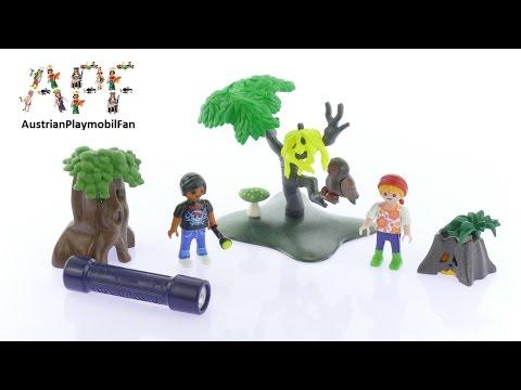 Vidéo PLAYMOBIL Summer Fun 6891 : Enfants avec végétation et lampe torche