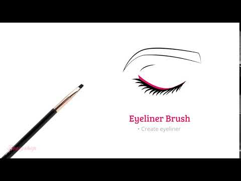 Boozyshop Boozyshop Ultimate Pro UP36 Eyeliner Brush