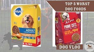 The 5 WORST Dog Foods | Dog Food & Dog Wellness | DogBoy's DogVlog