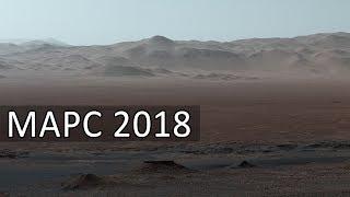 Марс 2018. Рассвет на Марсе, Панорамы Марса, скалы Марса вблизи.Снимки NASA.