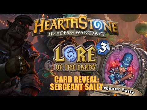 Card Reveal Sergeant Sally
