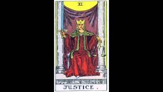 """Карта таро """"Справедливость"""" (tarot card """"Justice"""")"""