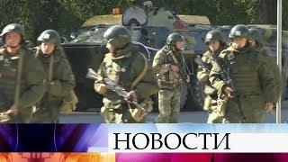 В Крыму после взрыва усилены меры безопасности.