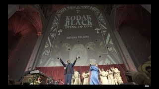 Kodak Black - Choir Performs at Dying to Live Listening Event in NYC