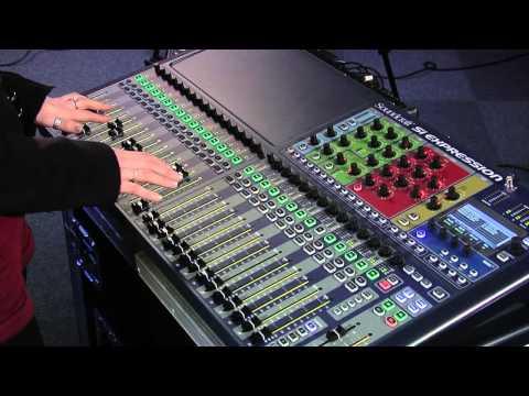 Soundcraft SI Expression Demostration