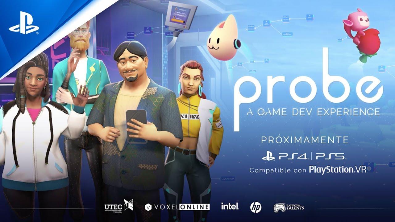 Probe: A Game Dev Experience llegará muy pronto a PS Store con una innovadora propuesta para aprender-jugando
