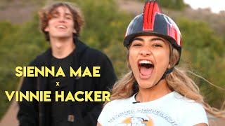 VINNIE HACKER teaches SIENNA MAE GOMEZ how to be a F***BOY!!!