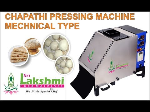 Chapathi Ball Pressing Mechanical System
