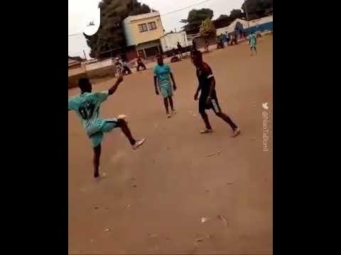 Craziest African football skills