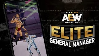 AEW Elite General Manager: Core Gameplay Trailer