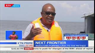 Fisherman pumps cash in fish caging on Lake Victoria due to hycinth: Next Frontier