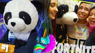 ¡TU HERMANA ES MI NOVIA! AMI RODRIGUEZ REACCIONA mientras juego FORTNITE - PANDA