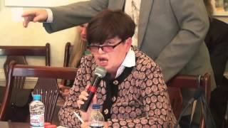 """Шеслер Лариса на на экспертной сессии «Проект """"Антироссия"""": реконструкция и вероятность """"успеха""""»"""
