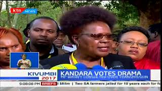 Kandara MP Alice Wahome defends her actions on alleged electoral offense