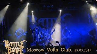 BATTLE BEAST. Moscow. Volta club. 27.03.2015. Intro/Far Far Away