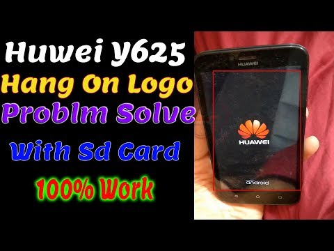 How to Fix Huawei Y6 (SCL-U31) Stuck On Boot Logo | Flash Stock ROM
