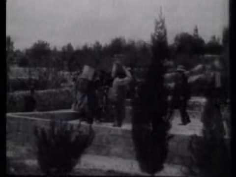 תיעוד מרתק: כך נראה החיים בירושלים בתחילת ימי המנדט הבריטי