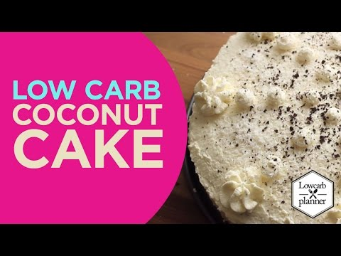 Video How To Lose Weight With A Coconut Cake | LowCarb Sweets