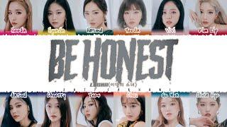 LOONA (이달의소녀) - 'BE HONEST' Lyrics [Color Coded_Han_Rom_Eng]