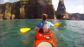 Amazing! Cliffs of Moher - Sea Kayaking in Ireland