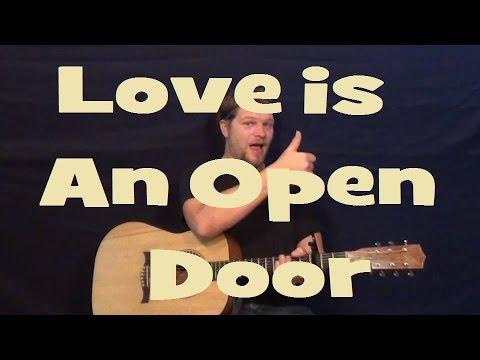 How To Play Love Is An Open Door