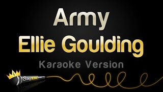 Ellie Goulding - Army (Karaoke Version)