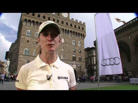 Golf, lancio ad alta quota a Firenze