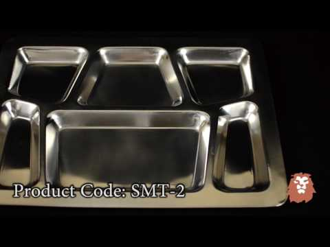 Winco Mess Tray, Style B Demo by LionsDeal.com