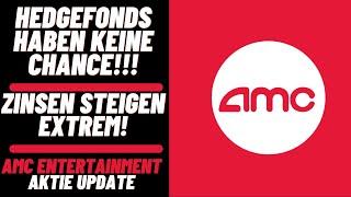 AMC Entertainment Aktie Update - Zinsen steigen auf über 88%! Hedgefonds haben keine Chance mehr!