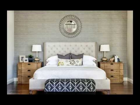 36 Modern Master Bedroom Ideas With Beautiful Wallpaper Accent Wall